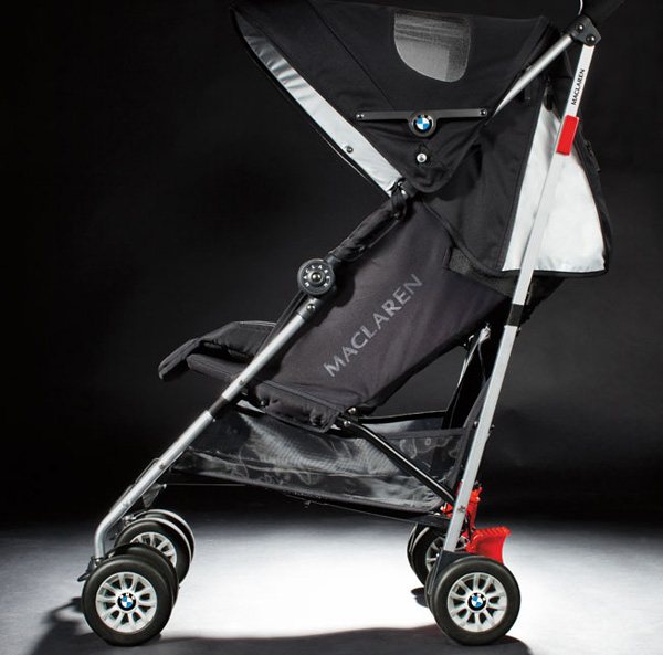 maclaren bmw 1 w BMW teams with Maclaren to deliver their most stylish stroller ride yet!