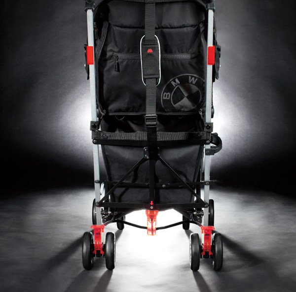 maclaren bmw 2 w BMW teams with Maclaren to deliver their most stylish stroller ride yet!