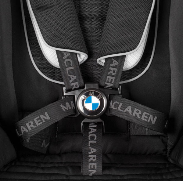 maclaren bmw 3 w BMW teams with Maclaren to deliver their most stylish stroller ride yet!