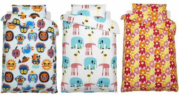 marimekko Snug as a bug   a nursery linen roundup