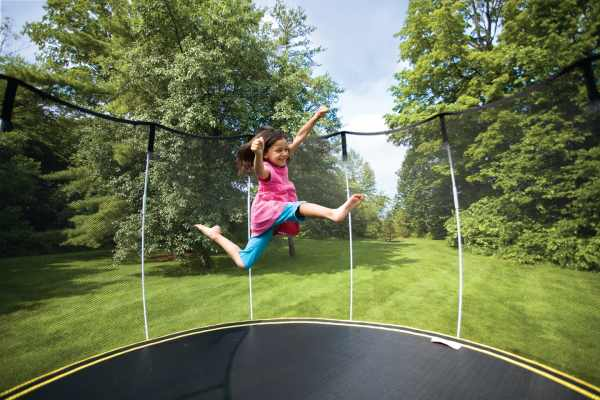 springfree3 Kids can (safely) jump for joy on a Springfree Trampoline