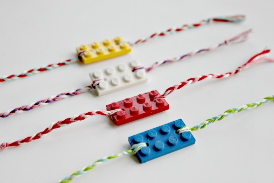 Lego bracelets Show your love with Lego
