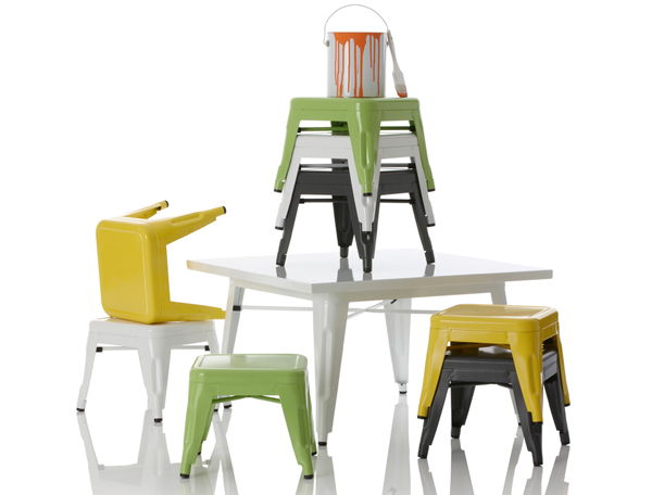 Little-Nest-2, industry table and chair set
