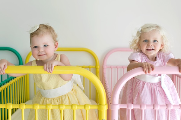 incy gelato cot 1 Were peachy keen on the new Incy Interiors Gelato Cots