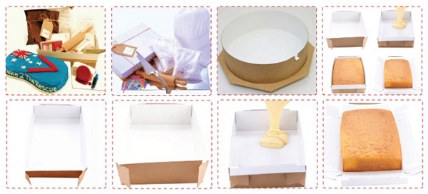 Cake kits from Cake 2 the Rescue
