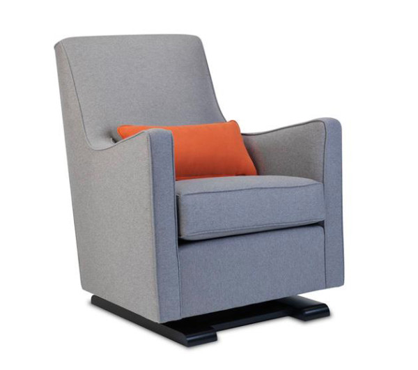 Grano nursing chair from Monte Design – it glides & reclines!