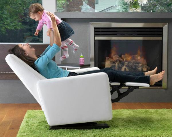 stylish nursing rocker recliner, Mantha & You