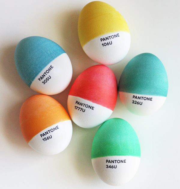 Pantone easter eggs web The Babyology guide to DIY Easter crafts!