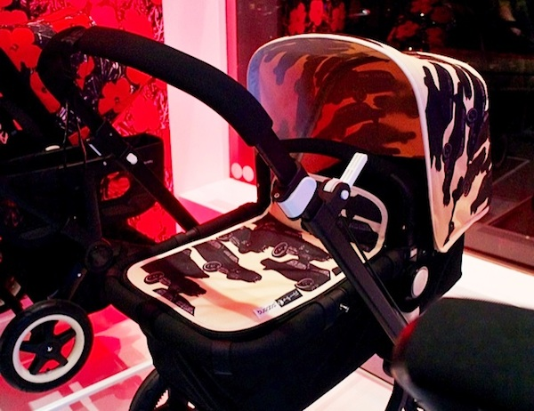 Bugaboo Card fabric at Bubaboo Store opening