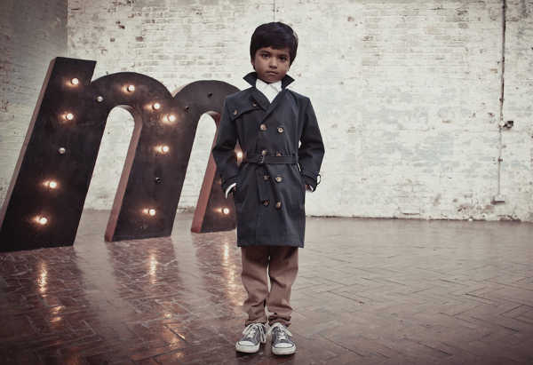 Trenchcoats for kids from That's Not Fair London