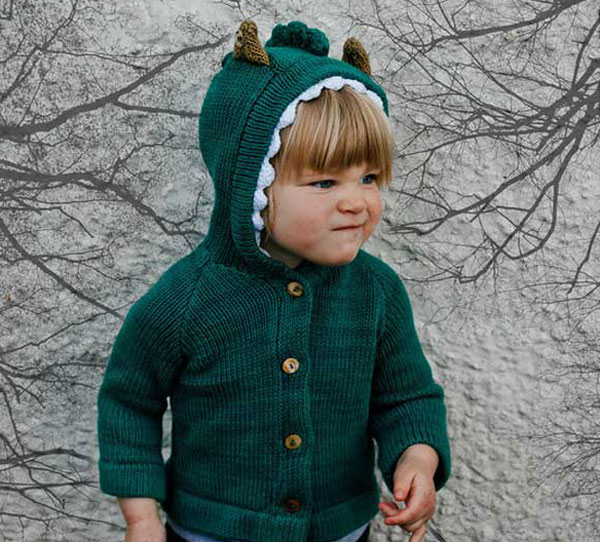 Handknitted hats and jackets for kids from Toto Knits