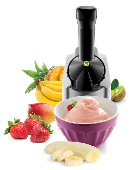 Yonanas frozen fruit soft serve maker