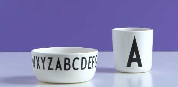 designletters5, alphabet plates and cups for kids