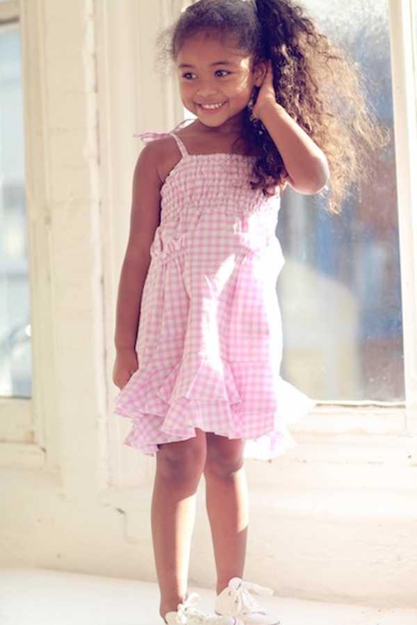 gigi7, pink and white gingham summer dress, aster dress