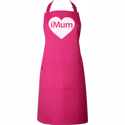 I love mum apron from Pinklily