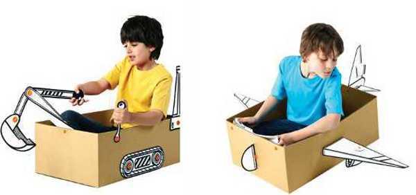 makedo3a Little imaginations run wild with Makedo Box Prop Kits