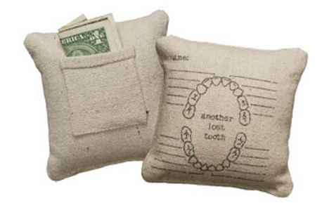 Tooth fairy pillow from A Lovely Universe
