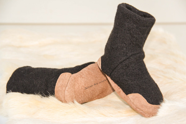 Woolby & Co upcycled felted sweater boots, Mother's Day 2013 stylish gift ideas