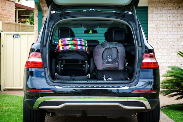 Mercedes-Benz ML 250 BlueTEC luggage area