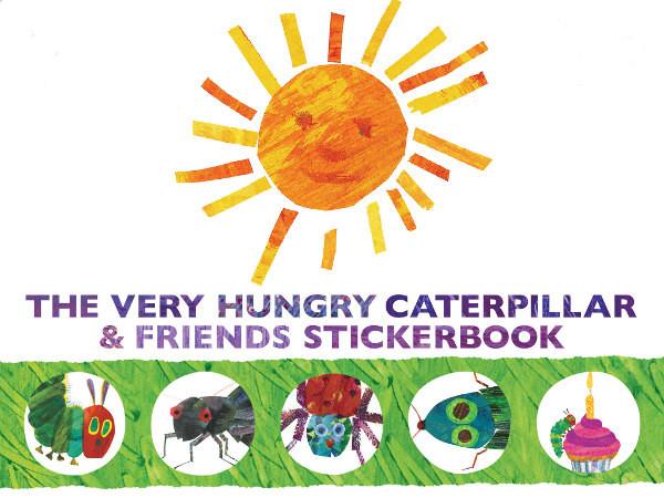 Very Hungry Caterpillar sticker app