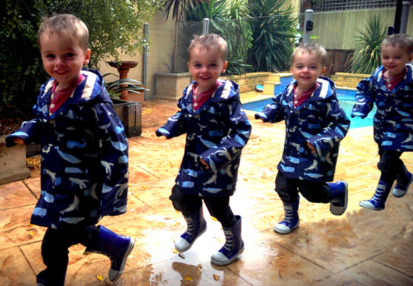 Wellies online Little feet make a big splash in Australia's tiniest gumboots