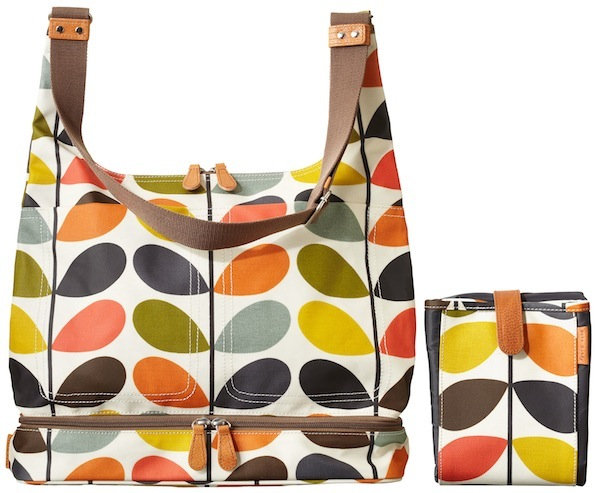 orla kiely baby bag 11 Orla Kiely Nautical Multi Stem Print Baby Bag