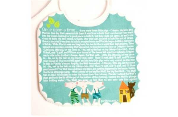 sofofo2, fairy tale bibs