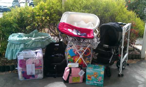 Charity begins at home - a guide to donating baby goods