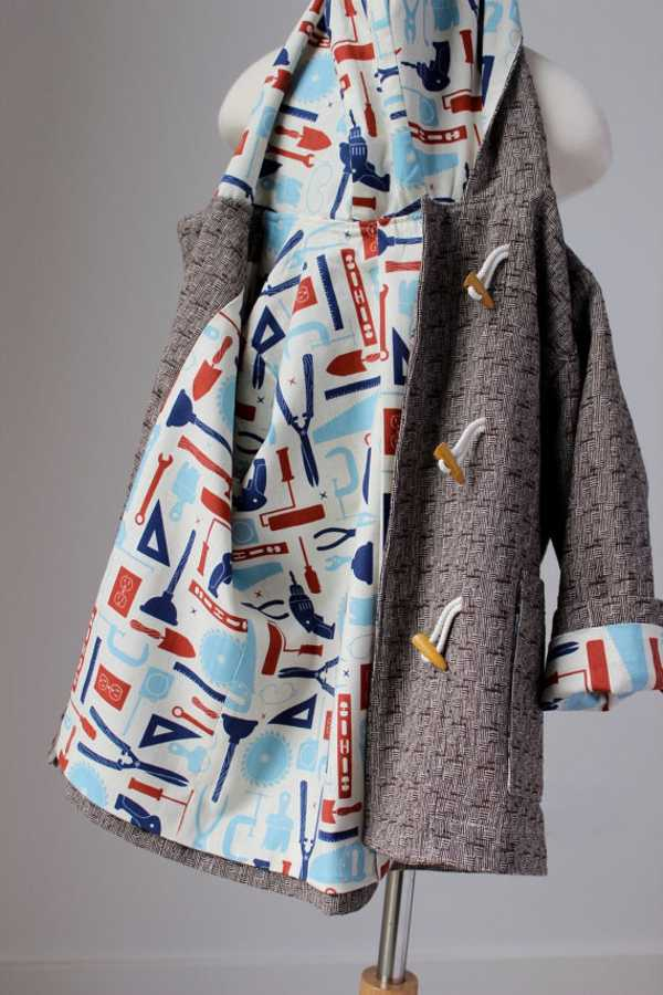 gigis2, stylish woollen winter coats for toddlers