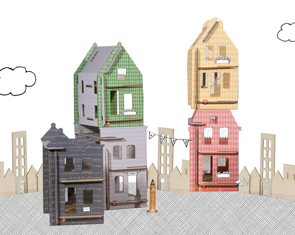 lille huset 3 Lille Huset modular doll houses are now available!