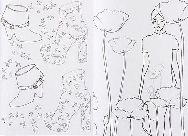 The Fashion Coloring Book Colour Me Stylish
