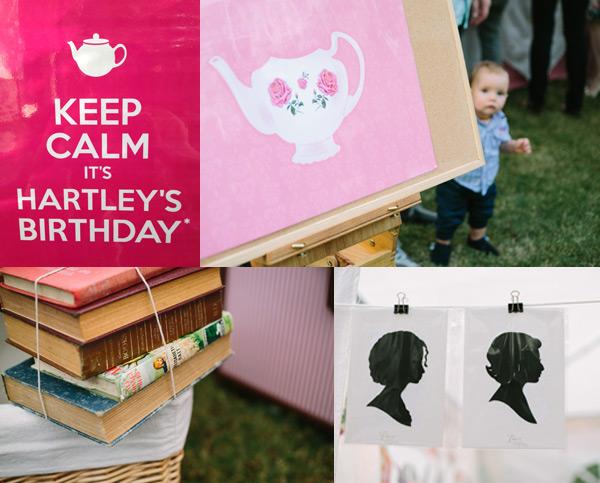 vintage tea party 4 Show us your party   Hartleys sweet garden tea birthday