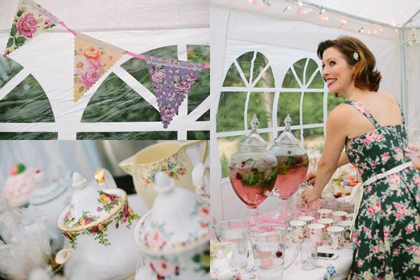 vintage tea party 5 Show us your party   Hartleys sweet garden tea birthday