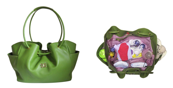 green sophie tote