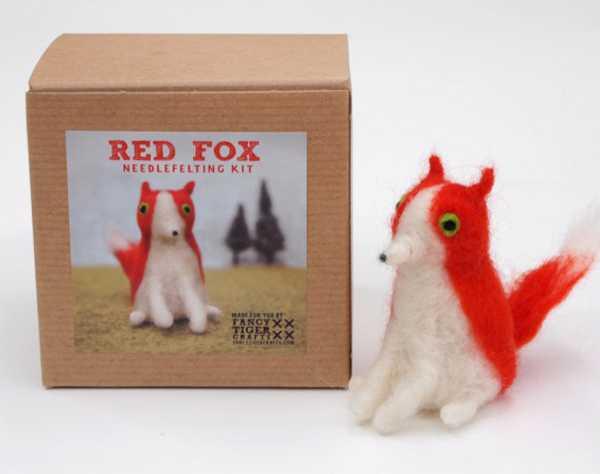 red fox feltingkit4