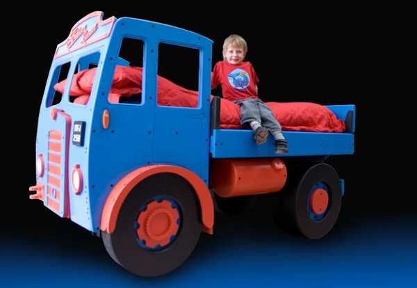 Make Bedtime A Smooth Ride With Fun Furniture Collection