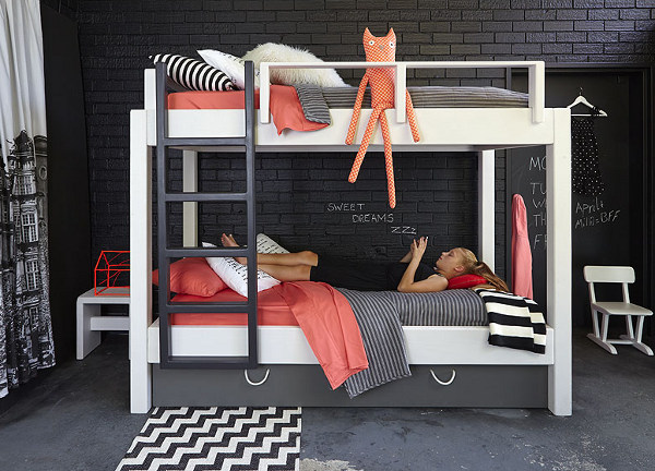 House of Orange bunk bed