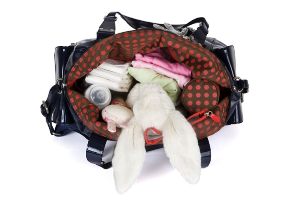 il tutto nico inside What to pack in a nappy bag