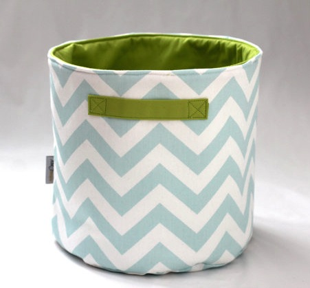 storage bucket soft toys nursery