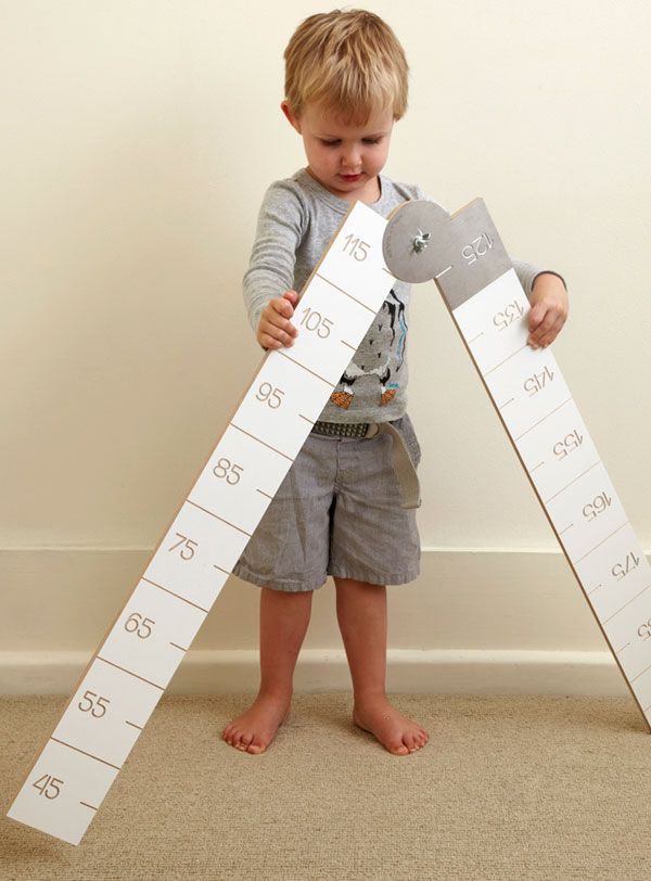 Wally Ruler 2 web Wally Ruler   the practical height chart thats big on style