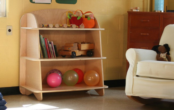 aero bookcase lg ls nt Sodura Aero contemporary bedroom furniture for toddlers