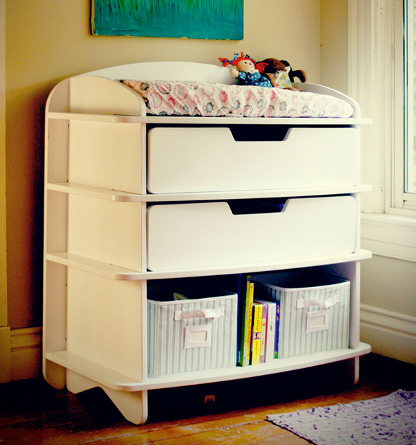 aero dresser wt ls Sodura Aero contemporary bedroom furniture for toddlers