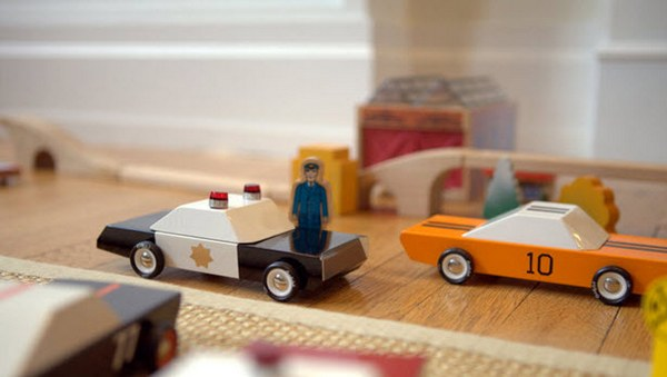 candylab toys 6 MO TO by Candylab Toys   mid century style meets modern toy cars