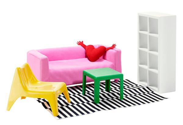 HUSET doll furniture IKEA