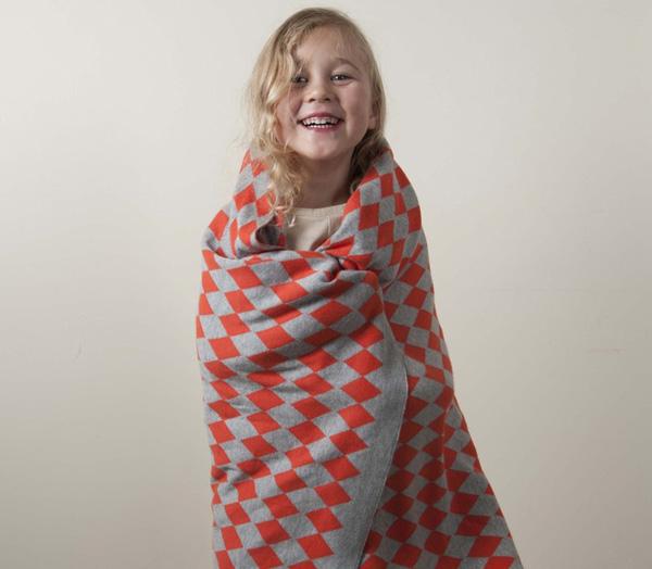 kidfolk 2, harlequin cotton blanket