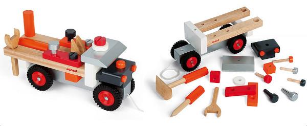 Janod DIY Tool Kit Truck UrbanBaby