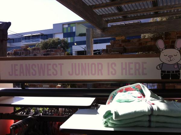 Jeanswest Junior launch