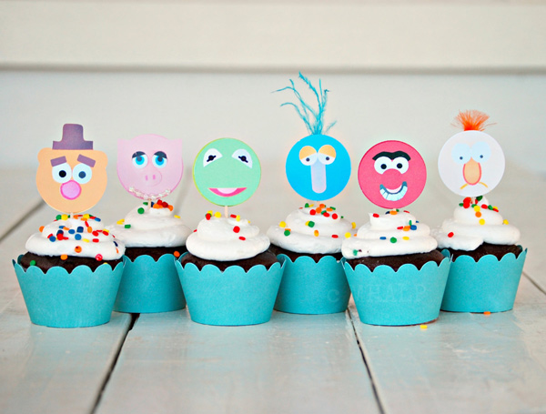 muppet-cupcake-toppers