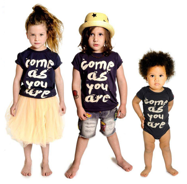 rock your kid summer 2013, Come as you are t-shirt