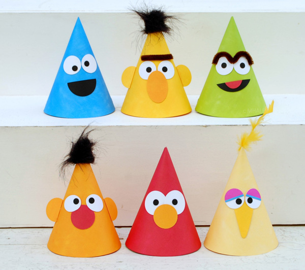 sesame-street-party-hats